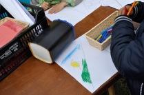 Pintando las cometas